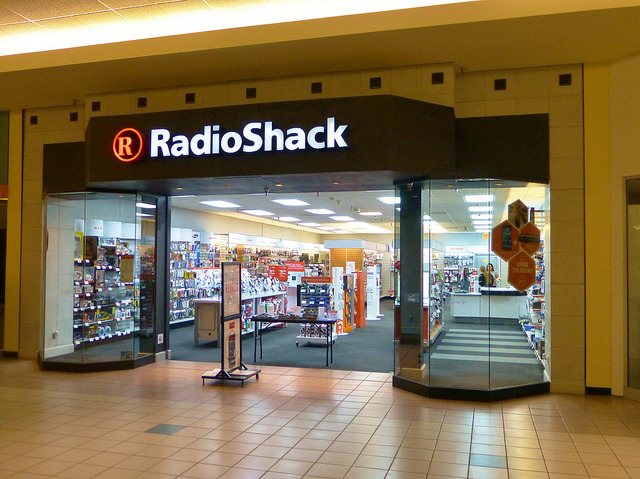 RadioShack auctions customers' information