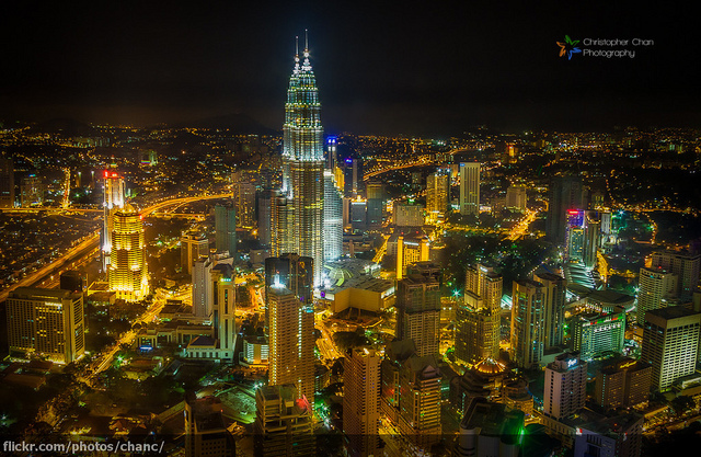 Kuala Lumpur City Centre, Christopher Chan (Flickr / cc)