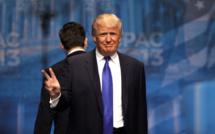 """Trump signs """"Buy American, Hire American"""""""