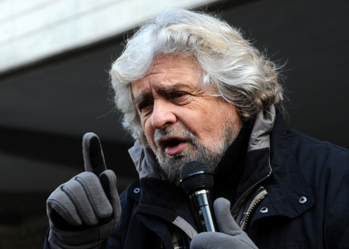 Beppe Grillo, picture by Niccolò Caranti