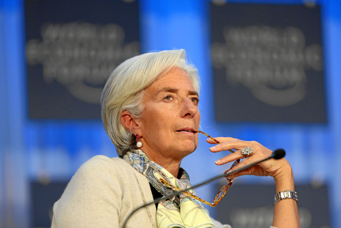 Christine Lagarde, IMF. Credits: World Economic Forum