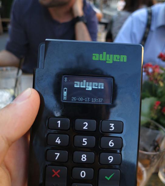 Adyen card payment terminal. Author Alper Çuğun