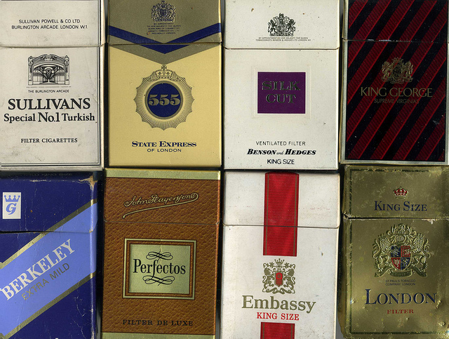 UK Parliament bans branding in cigarettes
