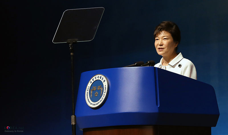 President Park Geun-hye. Picture by JEON HAN