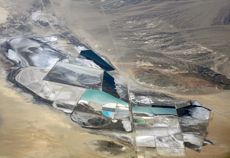 Chemetall Foote Lithium Operation in Clayton Valley, photo by Doc Searls