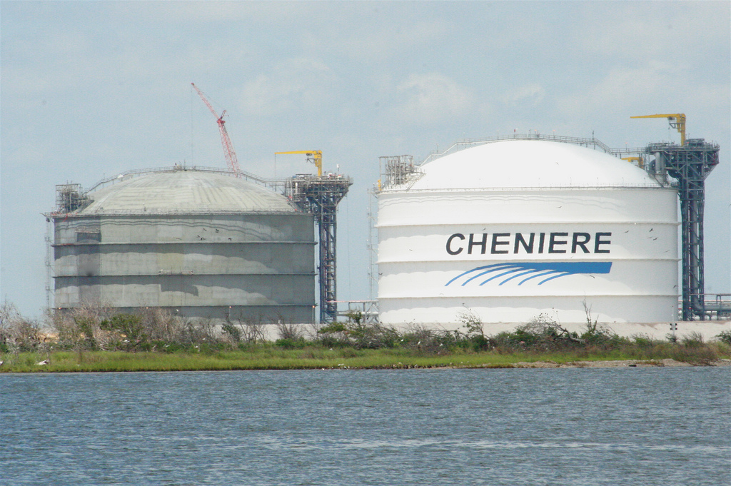 Cheniere Energy Sabine Pass LNG. By Roy Luck  via flickr