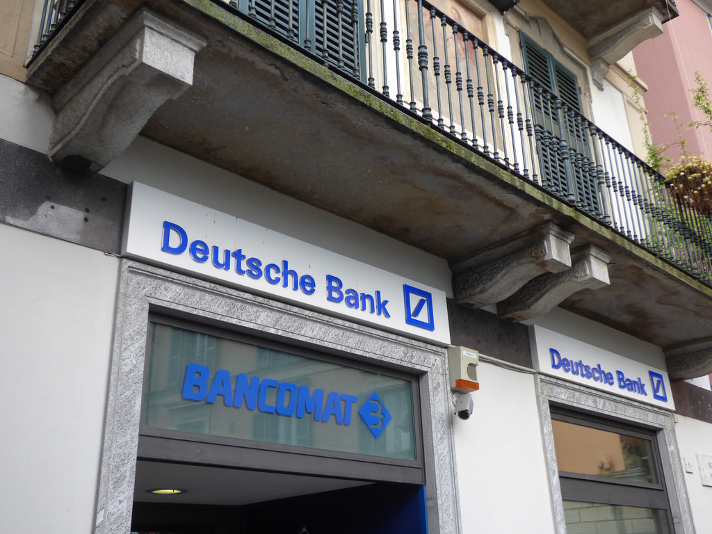 S&P downgrades Deutsche Bank's rating to BBB +