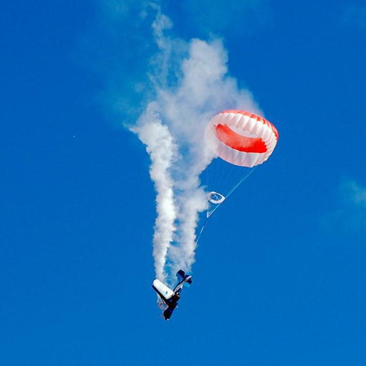 Airframe Parachutes To Prevent Aerial Accidents Along With Hijacking Threats
