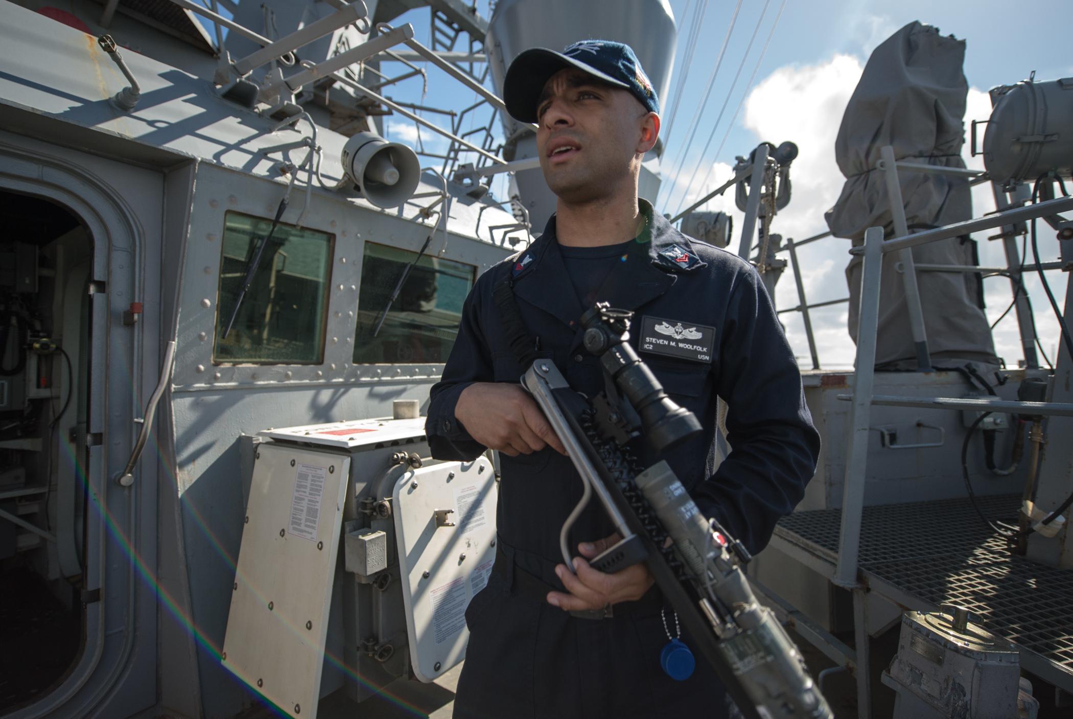 Petty Officer 2nd Class Karolina Oseguera