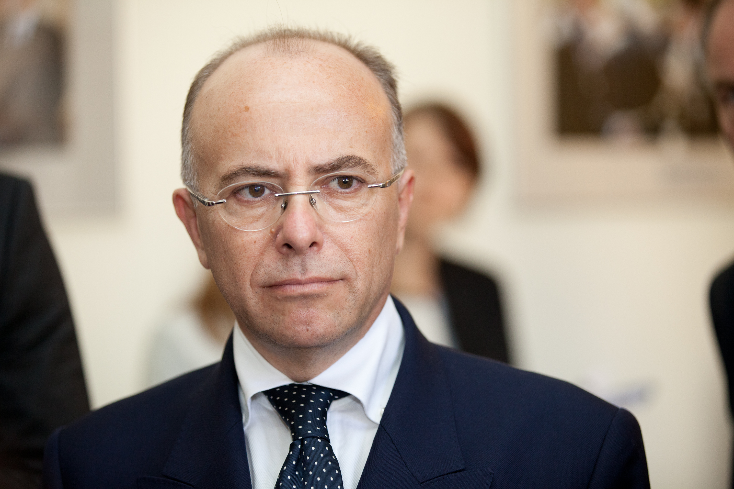 French Interior Minister Bernard Cazeneuve by State Chancellery of Latvia