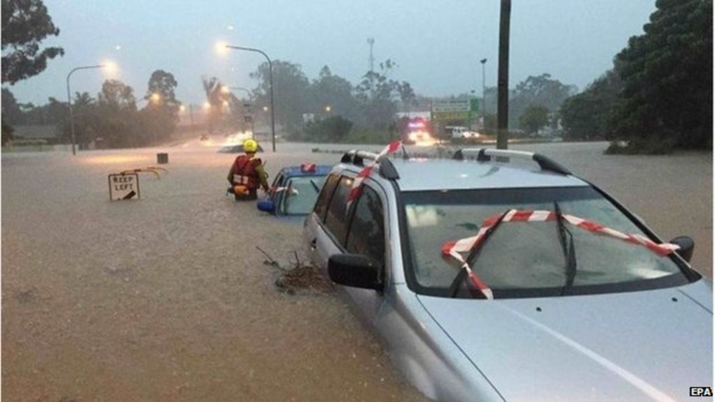Insurance losses from recent Australian storm climb up to Aus $1.55 billion