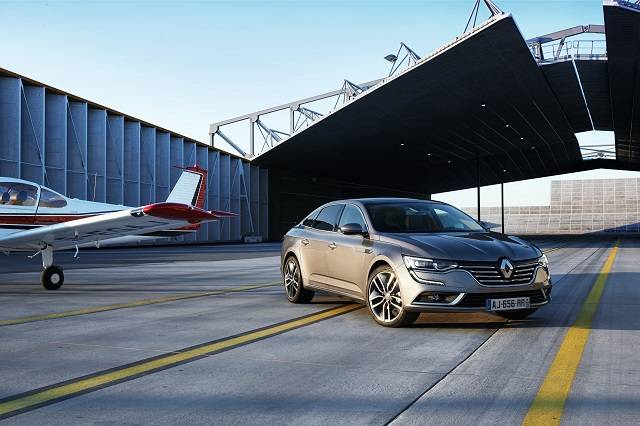 Renault launches Talisman to take on BMW & Mercedes