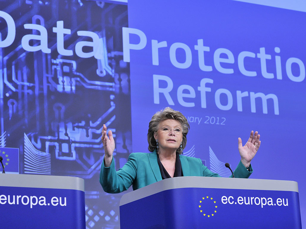 European Justice Commissioner Vivianne Reding