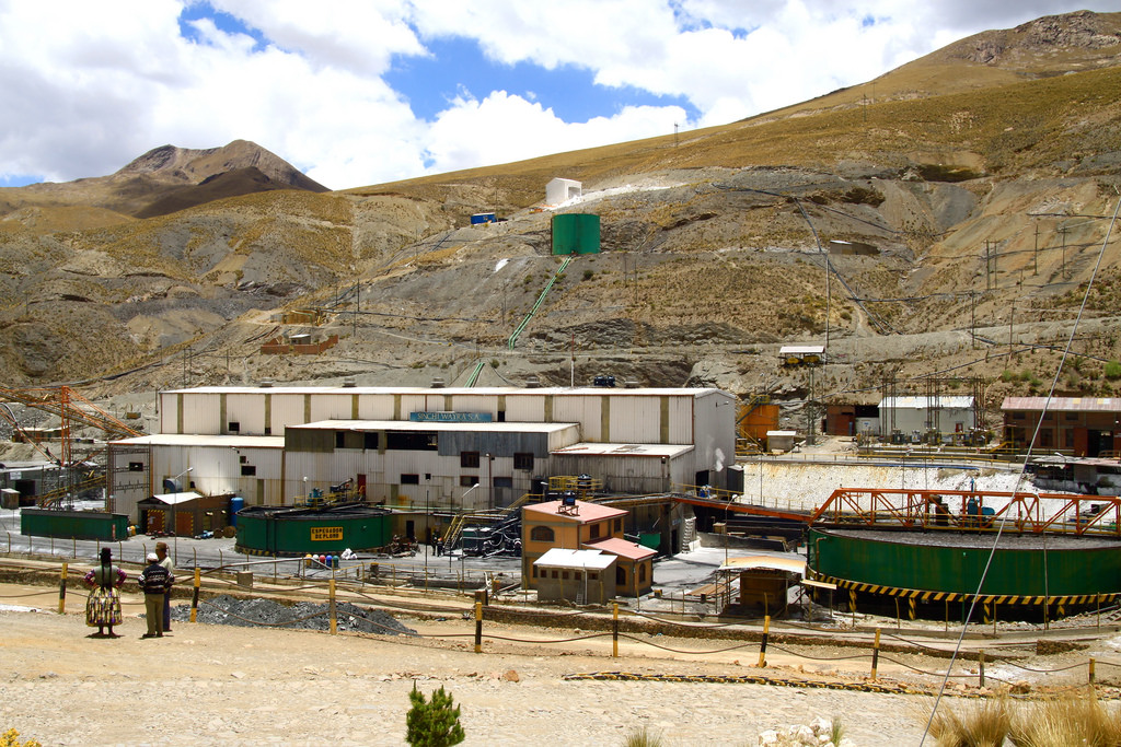 Glencore's mine. Golda Fuentes via flickr