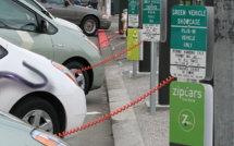 Automakers team up to create a network of electric charging stations