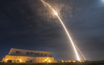 SpaceX launches the first two Internet satellites