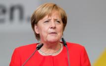 Angela Merkel returns to international area