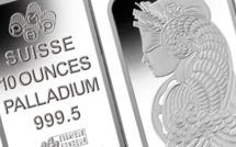 Palladium prices hit record high