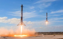 SpaceX launches the third Falcon Heavy