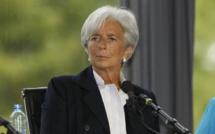 Christine Lagarde temporarily resigns