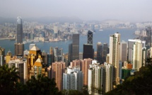 Fitch downgrades Hong Kong rating due to protests