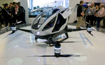 Chinese drone taxi maker aims to raise $ 100 mln on Nasdaq