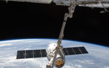 US Cargo Dragon successfully docked with the ISS