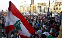 Lebanese government resigns amid massive protests