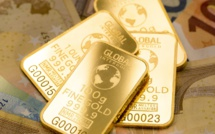 Global demand for gold shows record fall