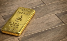 Gold falls in price as investors' risk appetite grows stronger