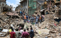 Nepal Quake Aid Set Off