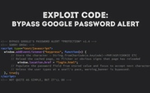 Google's 'Password Alert' Security Tool Is Vulnerable To 'Malicious Hackers'